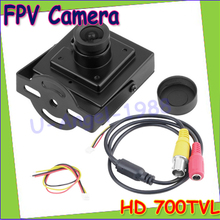 "Wholesale 1pcs Hot Selling Mini HD 700TVL 1/3"" Sony CCD 2.1mm Wide Angle Lens CCTV Security FPV Color Home Security Camera"