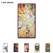 "For Sony Xperia Z L36H C6603 5.0"" Cellphone Cover Mobile Phone Protective Skin Color Paint Bag Shipping Free"