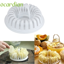 Ocardian bakery tools DIY Microwave Potato Chips Cooked Oven Microwave Cutting Grill Basket Slicer*30 GIFT 2017 Drop(China)