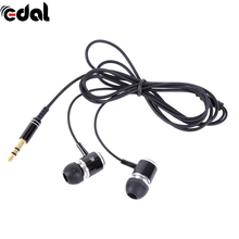 3.5mm Wired Stereo In-Ear Stereo Earphones For Mobile Phone For MP3 MP4 With Noise Cancelling Funtion Earphones(China)
