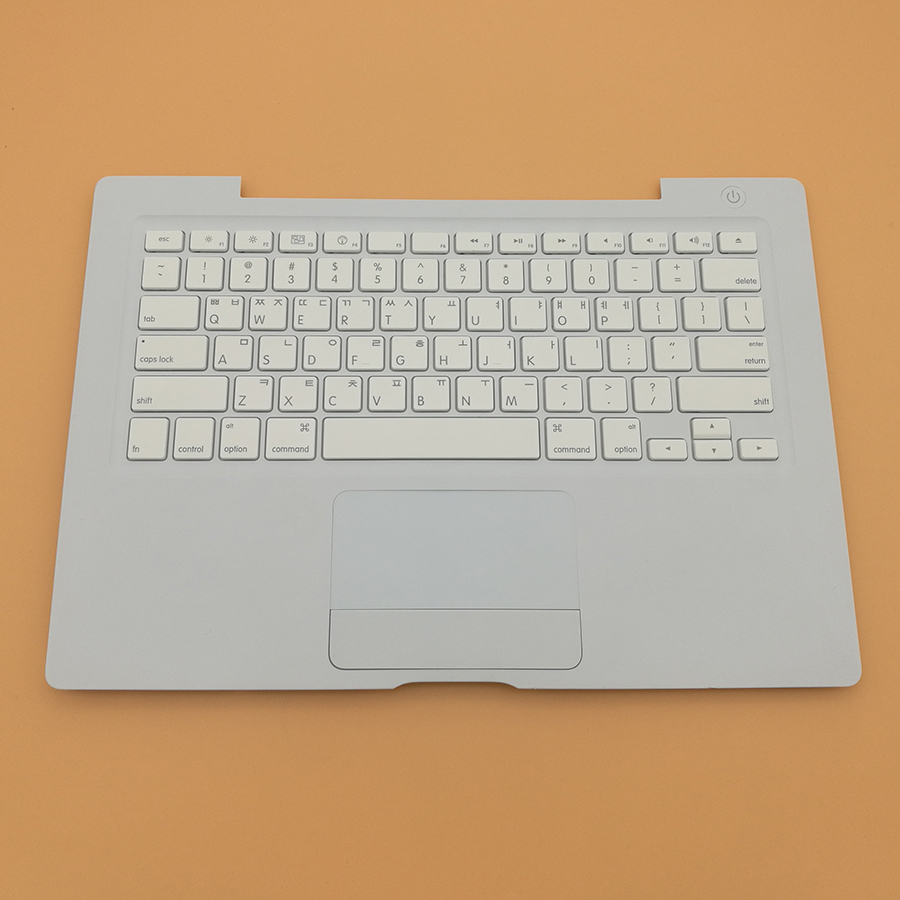 "MacBook Core 2 Duo Mid 2007 13/"" Palmrest//Keyboard White"