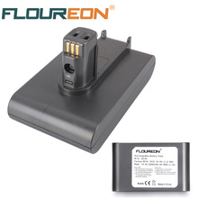 FLOUREON 14.4V 2000mAh Vacuum Cleaner Battery for Dyson DC30 917083-02 17183-01-03 17083-4810 Li-ion Batteria Compatible 14.8V