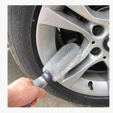 Car Whell Cleaning Brush Tool Tire Washing Clean Type Alloy Soft Bristle Cleaner