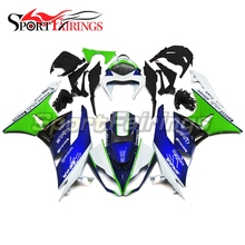 Fairings For Kawasaki ZX6R ZX-6R 636 2009 2010 2011 2012 09-12 Sportbike ABS Motorcycle Fairing Kit Bodywork Q.Bell Blue Green(China)