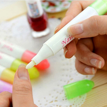 3X Nail Art Polish Corrector PenRemove Mistakes +3 Tips Nail Corrector Varnish Nail Polish Removal Pen