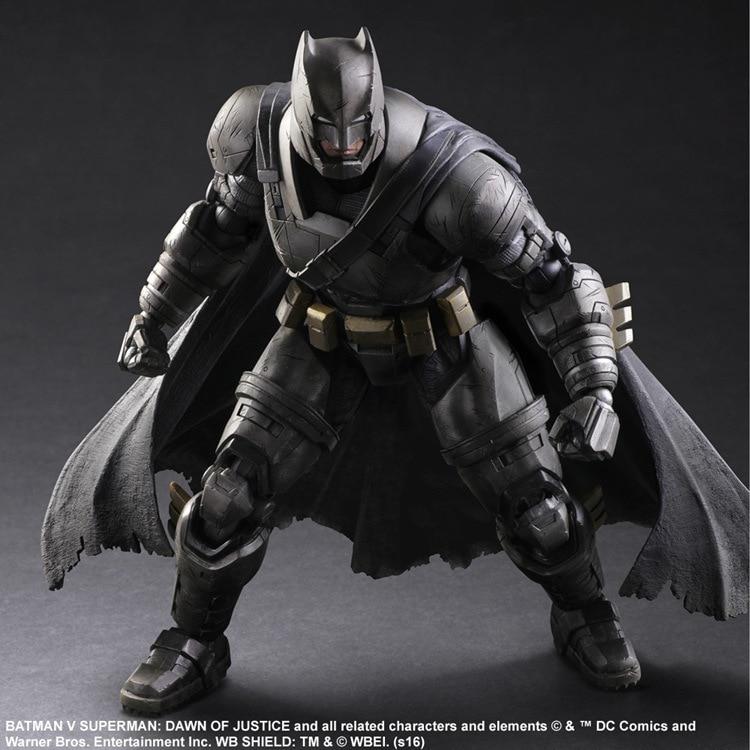 PLAY ARTS 25cm Armored Batman Edition 2 Action Figure Model Toys<br>