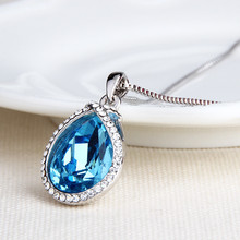 Miss Lady fashion crystal panthers Necklaces popular Pendant alloy clavicle chain Necklaces for women SY00517