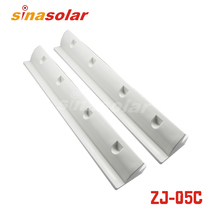 Super Light White ABS 550mm Solar Panel Mounting Brackets For Caravan(China)