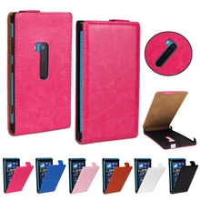 Stylish Retro Style Crazy Horse Flip Leather Case For NOKIA LUMIA 920 Mobile Phone Cover