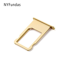 NYFundas SIM Card Tray Holder Nano Slot Replacement for Iphone 6 Plus 5.5 Inch 6plus A1522 A1524 A1593 iPhone6plus Accessories(China)