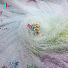 150CM Width High Density Milky Wave Mesh Fabric,Wedding Dress,Doll Skirt DIY Sewing Decoration Soft Mesh Fabric S0027L(China)