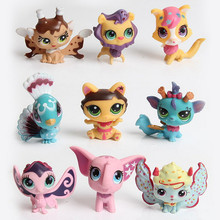 3pcs/lot Cute Animals Q Pet Shop Action Figure Collection Models Toys Best Christmas Gifts For Kids(China)