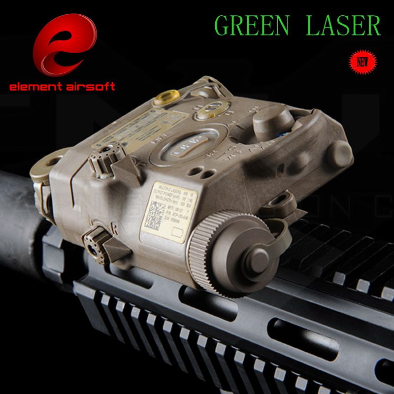 Latest Production Airsoft Element Flashlight LA-5C PEQ UHP Tactical Laser Flashlight Hunting Laser Green Light EX 419 HOT SELL(China (Mainland))