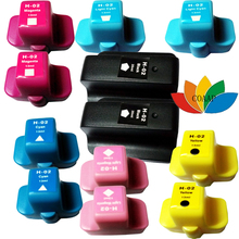 12PK New BK & Full Color Compatible HP 02 ink for PhotoSmart C5180 C6180 C7180 C7280 Printer(China)
