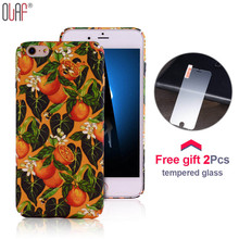Olaf Cute Animal Bee Phone Decal Case+Free Tempered Glass Film Case For iPhone 7 6 6S Plus Cover Shockproof Slim PC Shell Fundas