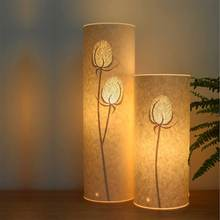 Light and shadow paper carved hollow night light paper skin art soft bedroom night light mother baby from the night lamp