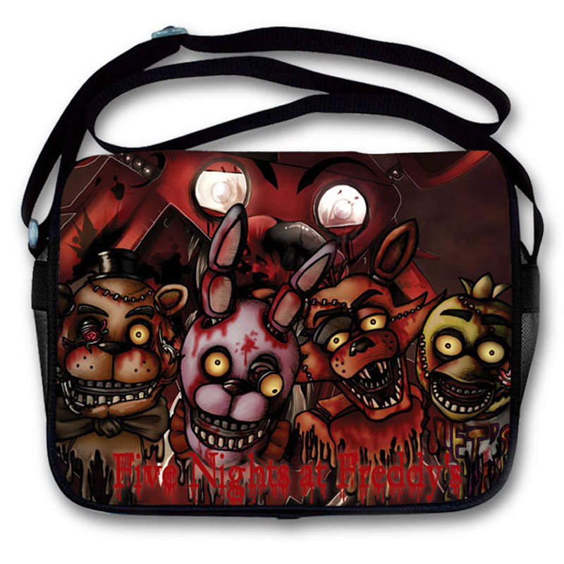New Arrival: Game Five Nights at Freddys Polyester Aslant School Satchel/Crossbody Shoulder Bag<br><br>Aliexpress