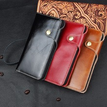 Anti-knock  Flip Case  Luxury leather Flip Wallet case For iPhone 7  3 kinds of colors to choose iPhone 7Plus