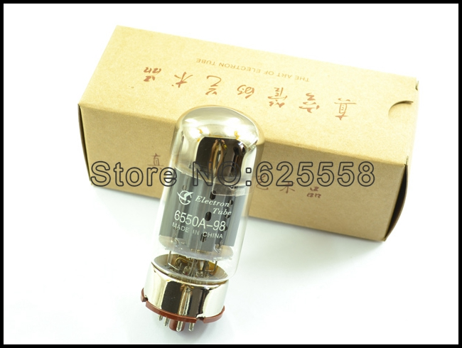 2pcs matched pair Shuguang 6550A-98(replacing Kt88) new Hi-Fi tube<br>