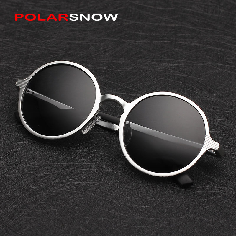 Aluminum Magnesium Sunglasses Polarized Men Round Driving Sun Glasses Oculos Masculino Male Eyewear Accessories 8552<br><br>Aliexpress