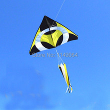 free shipping high quality 5pcs/lot nimbus kite various colors choose with handle line weifang kite ripstop nylon fabric kite