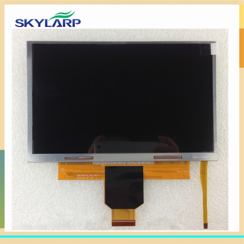 skylarpu 7 inch LCD screen display panel for LMS700KF23 LMS700KF23-002 GPS LCD display screen panel replacement (without touch)<br>