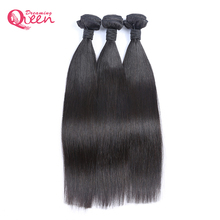 Brazilian Straight Human Hair Bundles Weave 100% Remy Human Hair Extension Natural Black Color Dreaming Queen Hair Products(China)