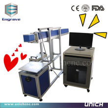 factory supply CO2 laser marking equipment/clothes marking machine