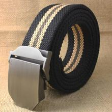 2016 Hot Men Canvas Belt Military Equipment Western Strap Mens Belts Luxury For Men Tactical Brand Cintos