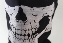 50 pieces Halloween Skull Skeleton Party Masks Black Motorcycle Multi Function Headwear Hat Scarf Neck Sport Face Winter Ski