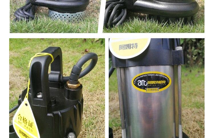 brushless motor water pump