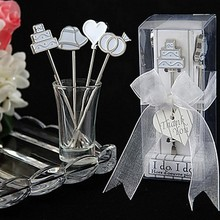 (DHL,UPS,Fedex)FREE SHIPPING+50sets/lot+Bridal Shower Favors I Do, I Do Hors d'oeuvre Fruit Forks Wedding Supplies&Accessories(China)