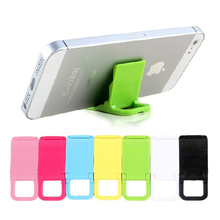10pcs Universal Desk Mini Support Portable Folding Holder Stand for Iphone Samsung Huawei All cell phone Random color delivery