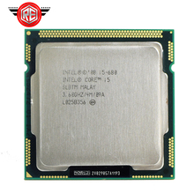 Intel Core i5 680 SLBTM Desktop CPU Processor LGA1156 3.60GHz 4MB 2.5 GT/s
