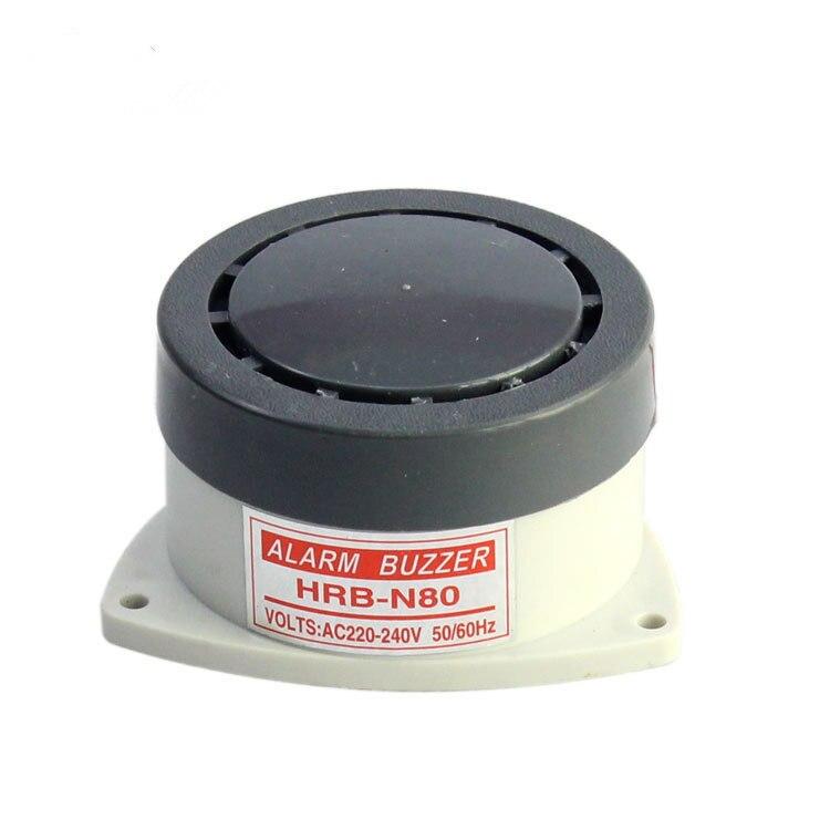 AC 220V DC 12V HRB-N80 Buzzer High Decibel small Alarm Speaker Buzzer Safty