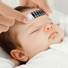 2016 New High Quality Forehead Head Strip Thermometer Fever Body Baby Child Kid Test Temperature Hot Selling NB0240(China)