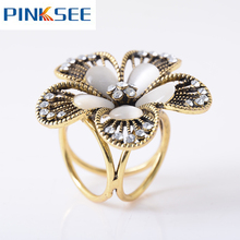 Bohemia Vintage Butterfly Flower Imitation Pearl Brooch Scarf Clips Lapel Pins Scarf Buckle Jewelry Fashion Accessories Gift