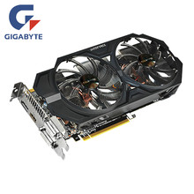 Видеокарта GIGABYTE GTX 760 2GB GPU 256Bit GDDR5 GTX760 2GB карта для видеокарт nVIDIA Geforce PCI-E X16 Hdmi Dvi(Китай)