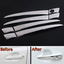 BBQ@FUKA Car Chrome Stainless Out Door Handle Cover Trim Styling Sticker Fit For Lexus CT200h RX270/ES250 GS350/450 IS250/350(China)