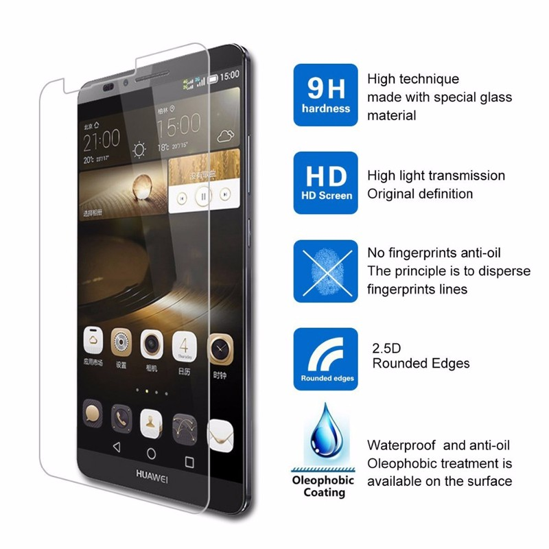 OMG For Huawei Y5 II / Y5II / 2 Huawey 5.0inch Screen Premium Tempered Glass Anti Shatter Toughened Protector Film case