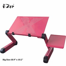 Adjustable Portable Laptop Table Stand Lap Sofa Bed Tray Computer Notebook Desk bed table with Mouse Table ZW-CD08