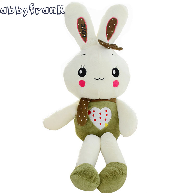Abbyfrank Cute Big Stuffed Rabbit Pillow Toys For Baby Girls Kids Adult Children Kawaii Plush Dolls Birthday Gifts For Girls<br>