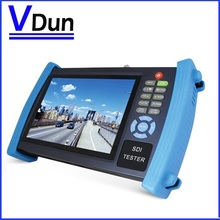DHL Free shipping  HVT-3600 7 inch LCD Screen CCTV Security Camera Tester Monitor  IP scan  cable scan  HDMI input  PoE test