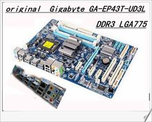 Free shipping original motherboard for Gigabyte GA-EP43T-UD3L EP43T-UD3L DDR3 LGA775 free shipping