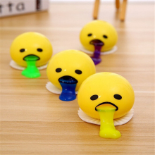 New Kids Novelty Toy Tricky Toys Vomiting Egg Yolk Recycle Gags & Practical Jokes Gift Release Stress Fun Creative Toys