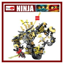 70Ninja Movie Model anime action figures Building Blocks Bricks Toys children gifts Compatible Garma Mecha Man - Bruce's Toy Store store
