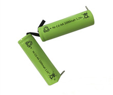 4Pcs Ni-Cd AA 1.2V 1000mAh Rechargeable Battery Nickel Cadium cell 14*49mm US(China)