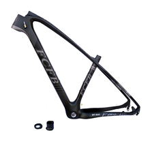 FCFB T800 carbon mtb frame 27.5 29er mtb carbon frame carbon mountain bike frame 135*9mm MT800 3k matt bicycle frame(China)