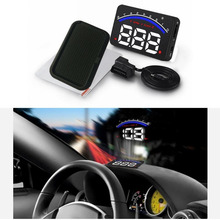 Car styling HUD Speedometer Head Up Display Vehicle Speeding Fuel GPS display AS(China)