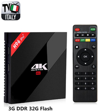 Super Italy IPTV H96Pro+3G32G Android 6.0 Smart TV Box+1400+ Albanian Turkey IPTV XXX Adult Hot club channels Smart Set Top Box